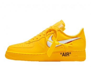 """Fake Off-White Air Force 1 Low """"University Gold"""""""