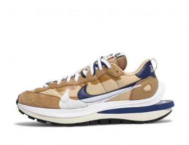 "Affordable Sacai x Nike VaporWaffle ""Sesame Blue Void"""