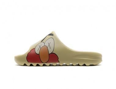 """Yeezy Slides """"Elmo"""""""