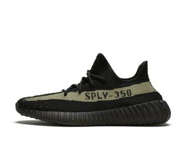 "Yeezy 350 V2 ""Core Black Green"""